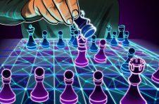 Algorand创始人SilvioMicali与大师SergeyKarjakin进行区块链记录的国际象棋游戏